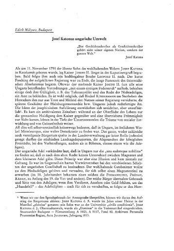 Josef Katonas ungarische Umwelt - EPA