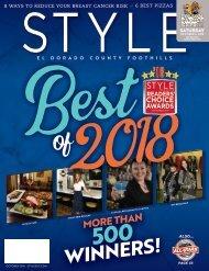 Style El Dorado County and Foothills; October 2018