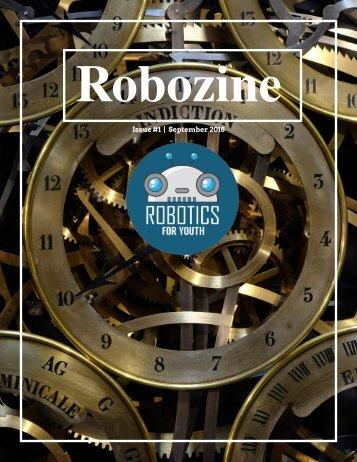 Robozine Magazine Issue#1