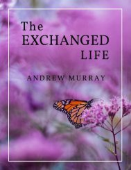 THE EXCHANGED LIFE BY ANDREW MURRAY