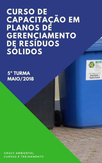 APOSTILA CURSO DE PGRS - QUINTA TURMA