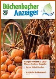 Oktober 2018 - Büchenbacher Anzeiger