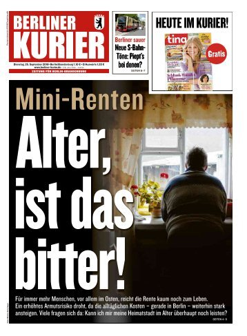 Berliner Kurier 25.09.2018
