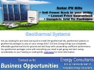 Install Geothermal Systems