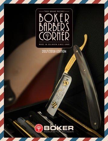 Boker Barber's Corner | BUSA Edition 2017 / 2018