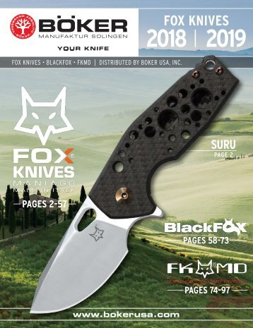 Fox Knives | BUSA Edition 2018 / 2019