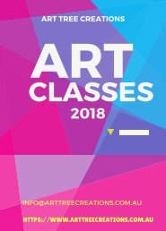 Take Your Creativity to New Level –Enrol Yourself for Melbourne Art Classes