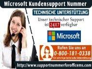 Wie hilft Ihnen Microsoft Kundensupport + 49-800-181-0338, wenn Sie Fehler beobachten?