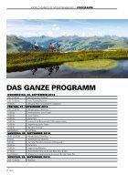 Programmguide World Games of Mountainbiking Saalbach 2018 - Seite 2