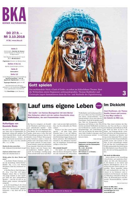 Berner Kulturagenda N°38