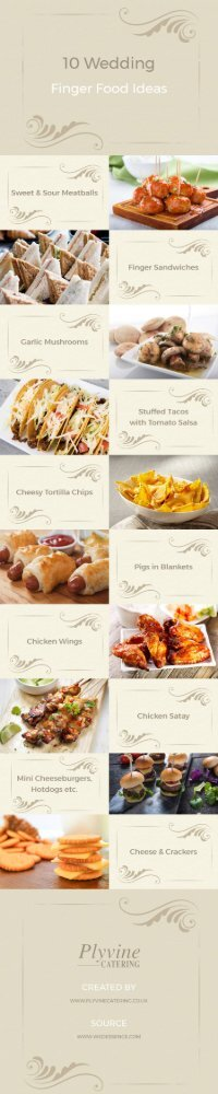 10 Wedding Finger Food Ideas