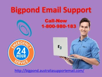 Handle Bigpond Issue by Getting Support | Email 1-800-980-183