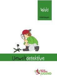 Umweltdetektive Erlebnisbogen Wald
