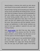 All You Should Know About Cloud Hosting - Page 2