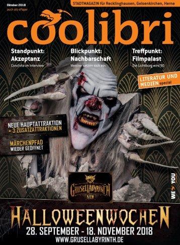Oktober 2018 - coolibri Recklinghausen, Gelsenkirchen, Herne