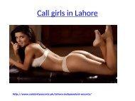 Call girls in Lahore | Pakistani model escorts
