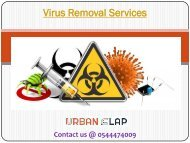 Avail the Virus Removal Service in Dubai, Call 0544474009