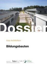 Gaus Architekten: Kindergärten, Schulen und Ganztagsbetreuung