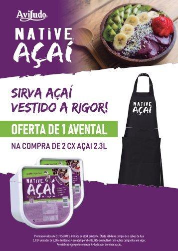 NATIVE Açaí_Campanha OFERTA Avental