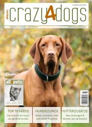 crazy4dogs mit all4pets inside – Herbstausgabe 2018