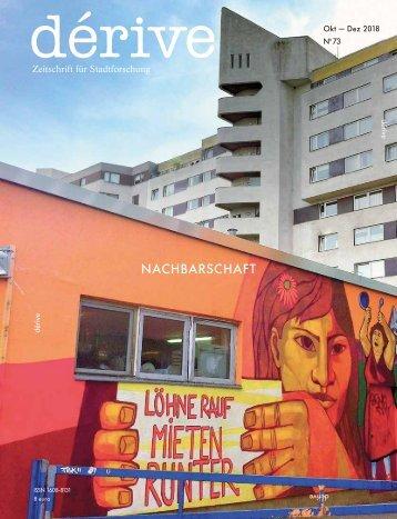 Nachbarschaft / dérive - Zeitschrift für Stadtforschung, Heft 73 (4/2018)