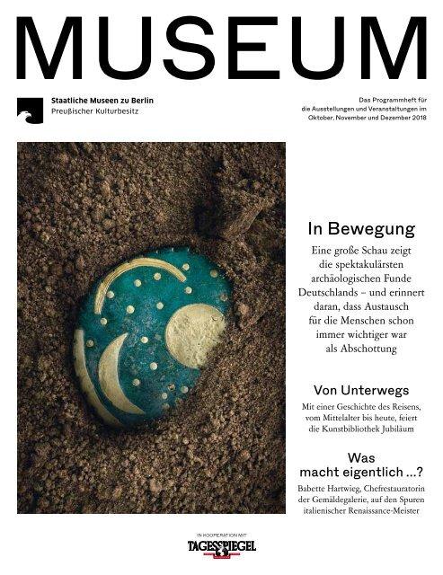 MUSEUM IV 2018 - Programmheft der Staatlichen Museen zu Berlin
