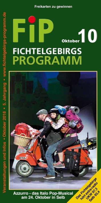 Fichtelgebirgs-Programm - Oktober 2018