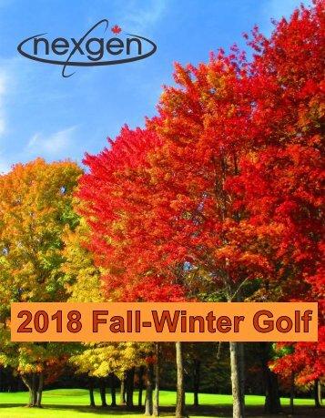 Fall Catalog 2018