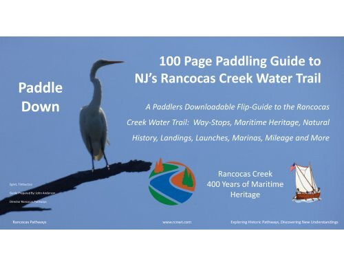 Microsoft PowerPoint - 100 Page Rancocas Creek Water Trail Guide