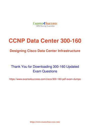 Cisco 300-160 Exam Questions Updated [2018] - 100% Valid Dumps