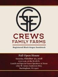 Crews Family Farms - Registered Black Angus Seedstock