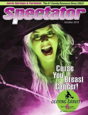 Spectator Magazine October issue