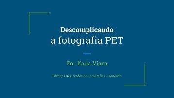 Descomplicando a Fotografia Pet