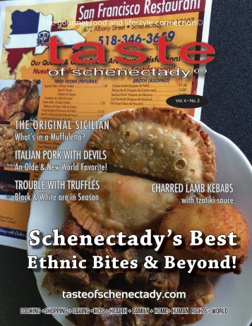 Taste of Schenectady Volume 4 No. 2