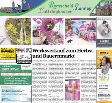 Remscheid-Lennep-Lüttringhausen  -26.09.2018-