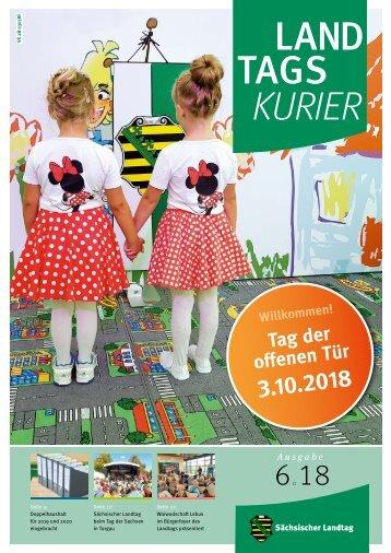 Landtagskurier, Ausgabe 6/2018