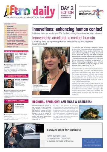 IFTM Daily 2018 - Day 2 Edition