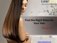 Find the Right Salon for Your Hair