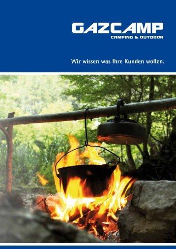 Gazcamp GmbH Katalog