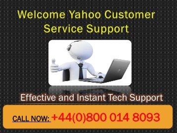Yahoo Customer Service UK