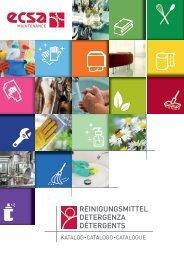 ECSA Maintenance - Catalogo detergenza - 2018