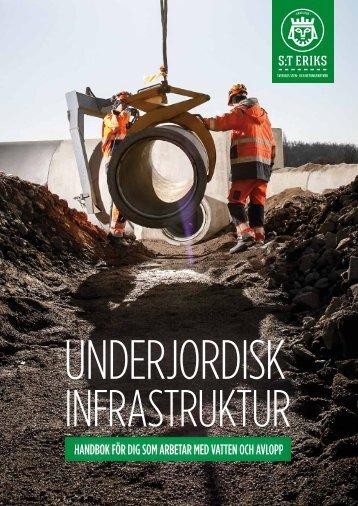 Underjordisk Infrastruktur – Handbok för dig som arbetar med vatten och avlopp