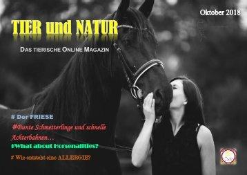 Oktober 2018 - Tier und Natur - Online Magazin