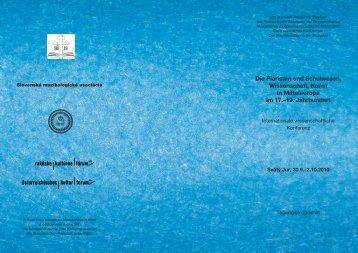 Bulletin program web.indd