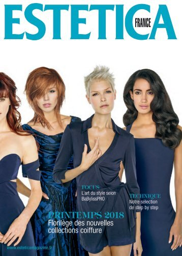Estetica Magazine FRANCE (1/2018 COLLECTION)