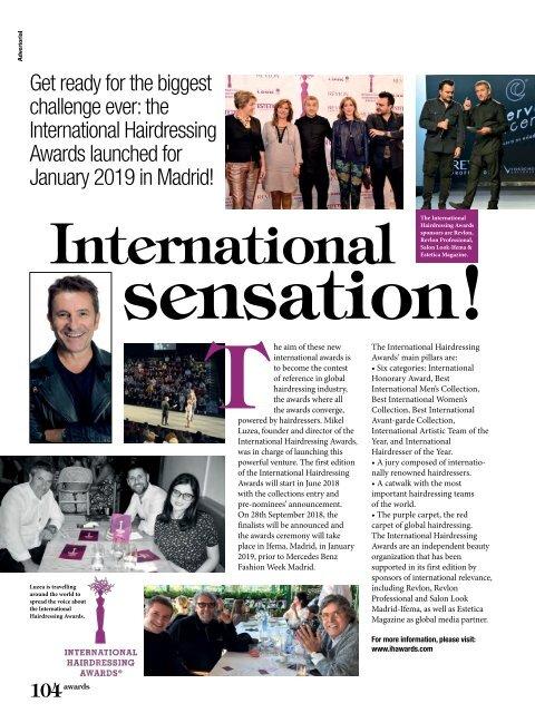 Estetica Magazine UK (1/2018)