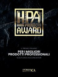Hair Products Award / HPA 2018