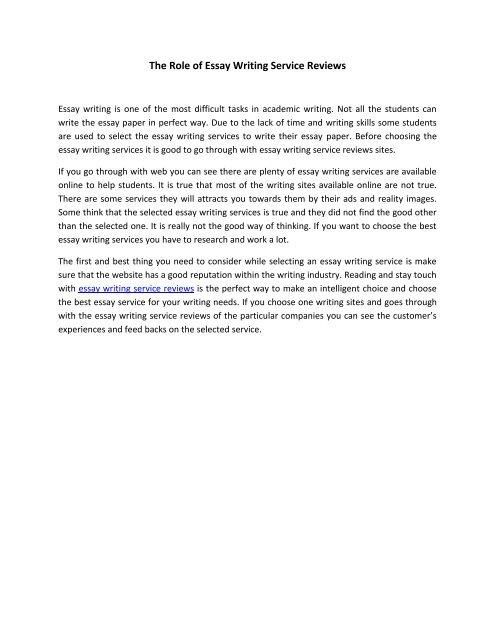 Essay writing company reviews professional essay writing service