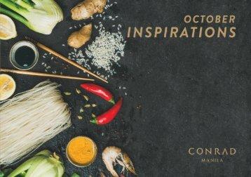 2018 October Inspirations