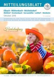 Nürnberg-Eibach/Reichelsdorf/Röthenbach - Oktober 2018
